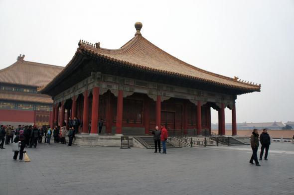 Внешний дворец - Чжунхэдянь